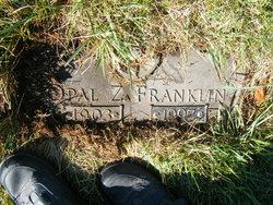 Opal Z <i>Mansfield</i> Franklin