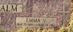 Emma V. <i>Langford</i> Alm