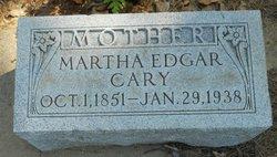 Martha <i>Edgar</i> Cary
