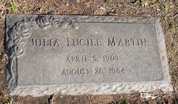 Julia Lucile Martin