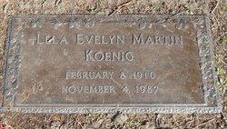 Lela Evelyn <i>Martin</i> Koenig