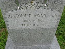 Malcolm Clarion Bain