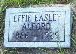 Effie <i>Easley</i> Alford