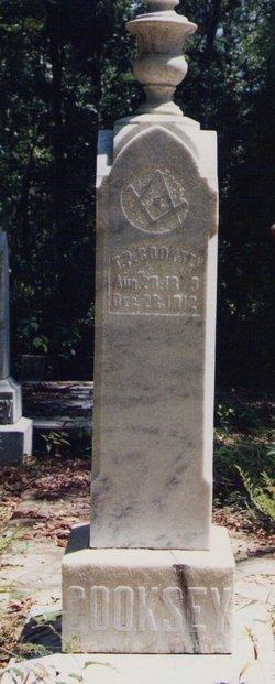 Maj Thomas Peter Cooksey