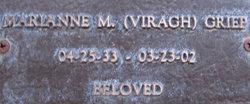 Marianne M. <i>VIRAGH</i> Griep