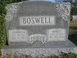 Betty <i>Carter</i> Boswell