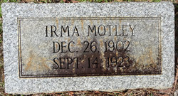 Irma Motley