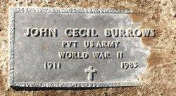John Cecil Burrows