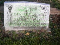 Billy Hugh Cameron