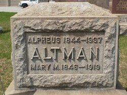Alpheus Altman