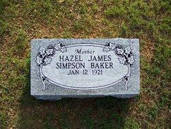 Hazel Anthem <i>James</i> Baker