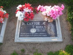 Maria G. Cantor