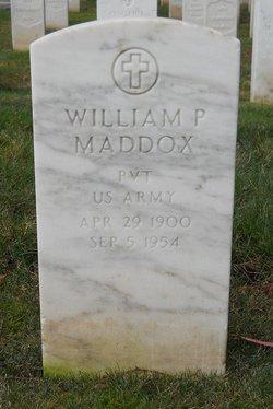 William P Maddox