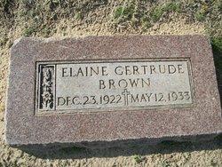 Elaine Gertrude Brown
