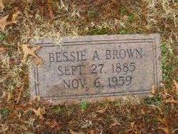 Bessie <i>Anderson</i> Brown