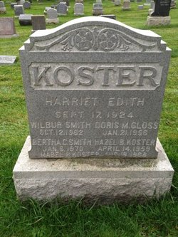 Harriet Edith Koster