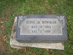 Olive Marguerite Bowman