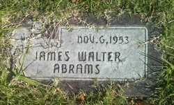James Walter Abrams