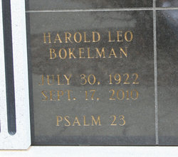 Harold Leo Bokelman
