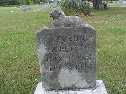 Cliford O Burgett