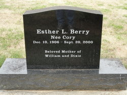 Esther L <i>Cory</i> Berry
