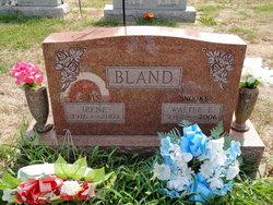 Walter E Bland