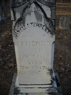 Isabella <i>Templeton</i> Alexander