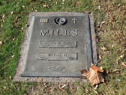 Wayne H Miles