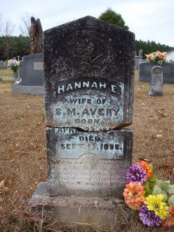 Hannah Elizabeth <i>Roberson</i> Avery