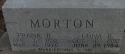 Edna Bessie <i>Hughes</i> Morton