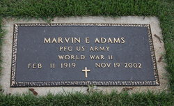Marvin E Adams