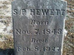 Pvt Simeon P. Hewett
