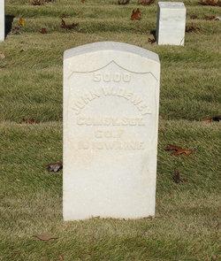 Sgt John W Dewey