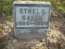 Ethel F Baker