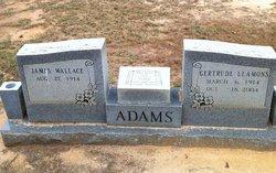 Fannie Gertrude <i>Leamons</i> Adams