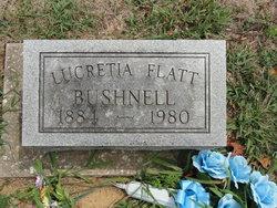 Lucretia <i>Flatt</i> Bushnell