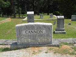 Mary Britt <i>Johnson</i> Cannon