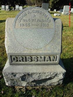 John A Crissman