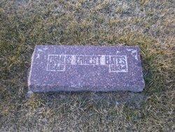 Ormus Ernest Bates, Sr