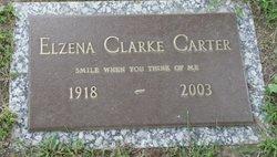 Elzena <i>Clarke</i> Carter