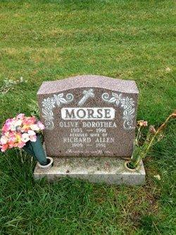 Olive Dorothea <i>Petersen</i> Morse