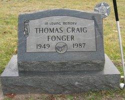 Thomas Craig Tom Fonger