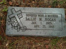 Sallie Marie <i>Parrish</i> Hogan