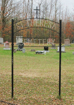 Saint Theresa's Roman Catholic Throoptown Cemetery