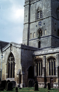 Burford, St Mary's  Churchyard