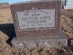 Lois Pearl <i>Aubrey</i> Strickland