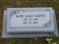 Mary Gaile Carter