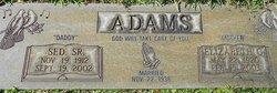 Sed Adams, Sr