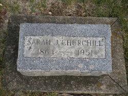 Sarah J Churchill