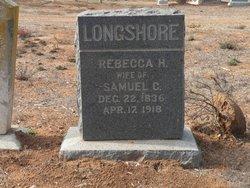 Rebecca H <i>Reynolds</i> Longshore